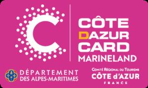 Côte d'Azur Card 3 jours+Marineland