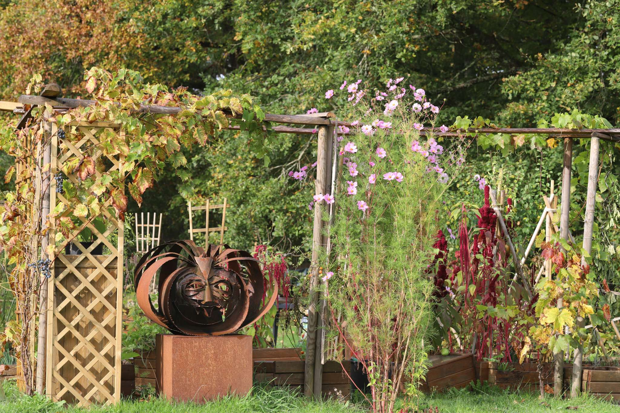 Visite libre ou contée du jardin littéraire des sculptures