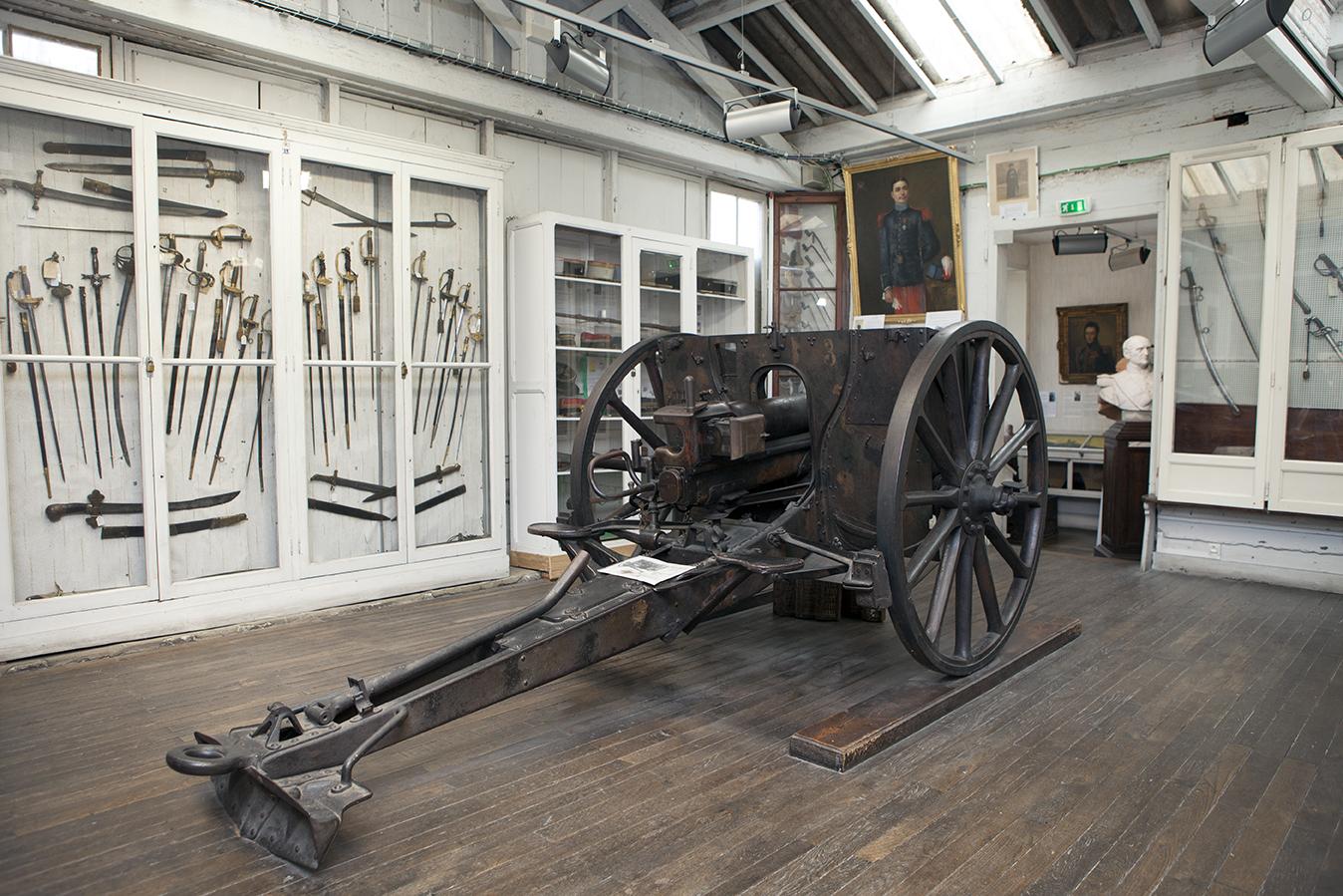 Visite du Musée militaire