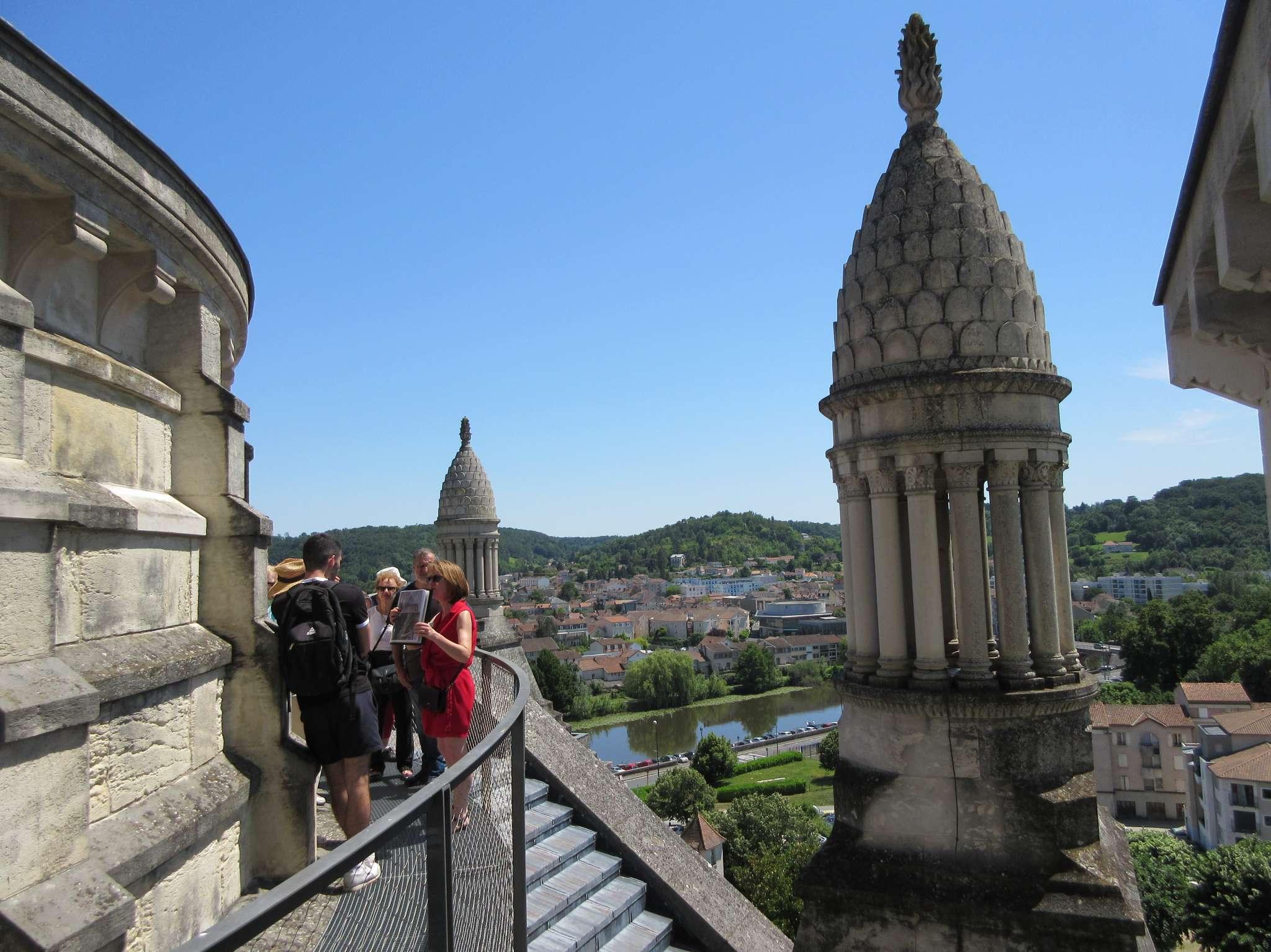 Visite des toits de la cathédrale Saint-Front