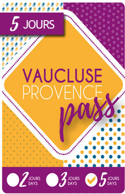 Vaucluse-Provence Pass 5 days / 48€