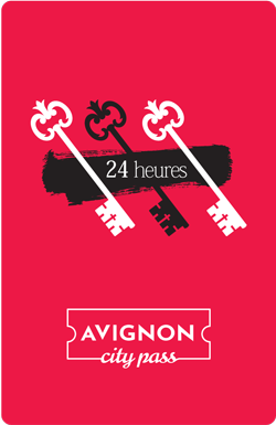 Avignon City Pass 24h / 21€