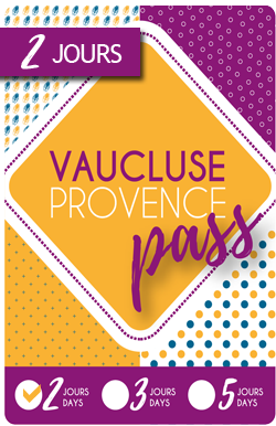 Vaucluse-Provence Pass 2 days / 29€