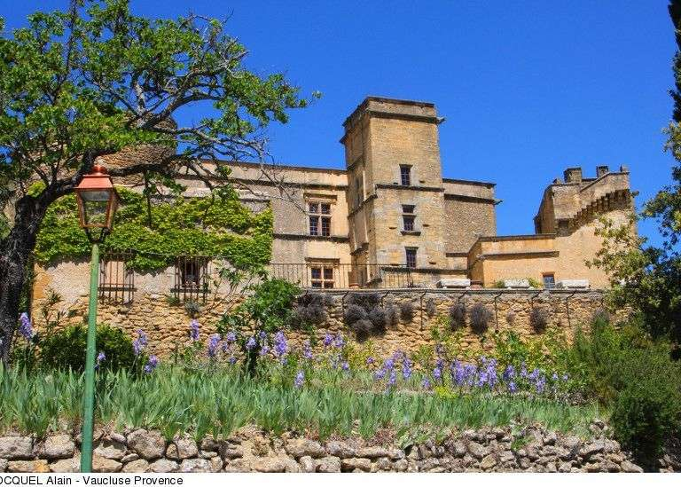 Visit of the Castle of Lourmarin