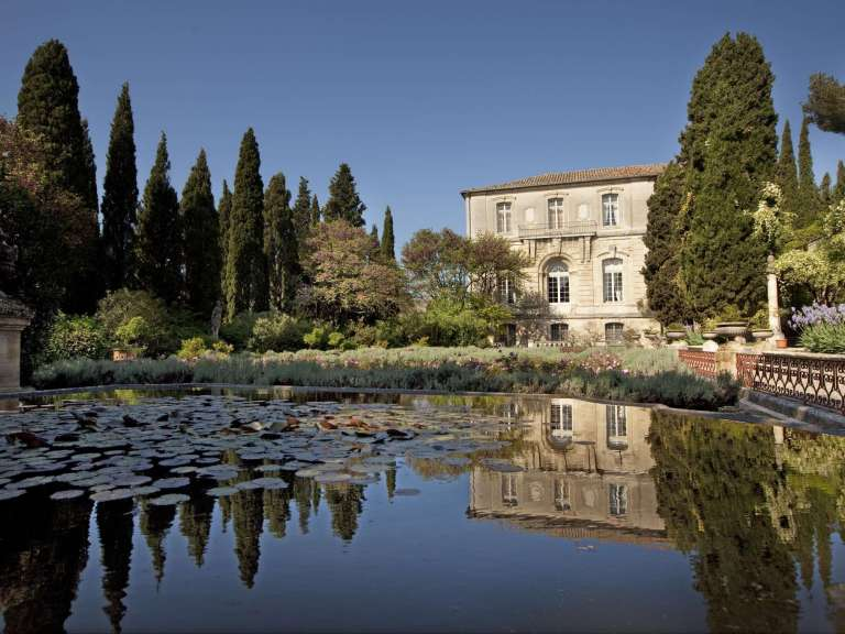 Visit of the Gardens of the Abbey of Saint André, Villeneuve lez Avignon